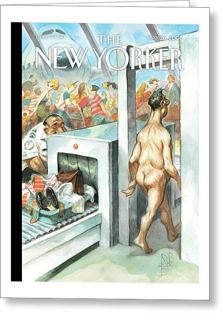 New Yorker May 26th, 2008 Greeting Card