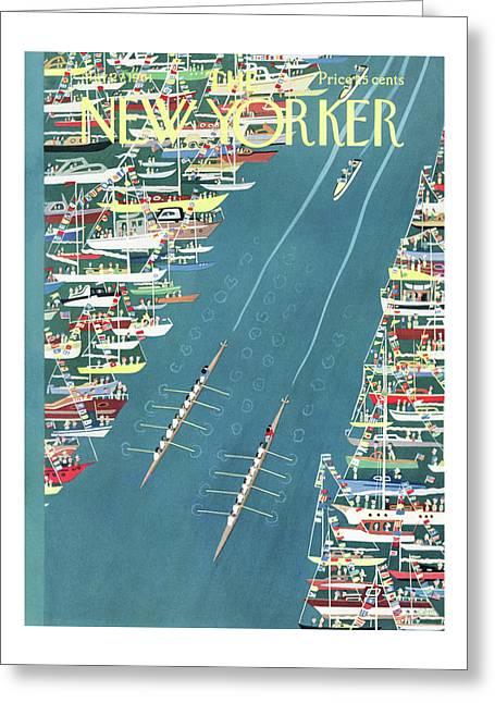New Yorker May 27th, 1961 Greeting Card