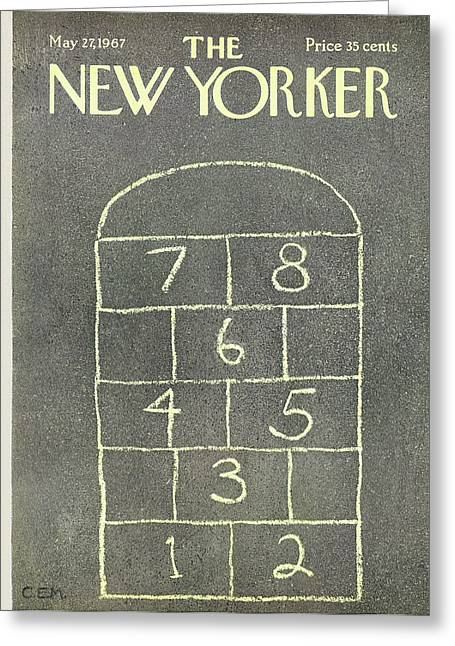 New Yorker May 27th, 1967 Greeting Card