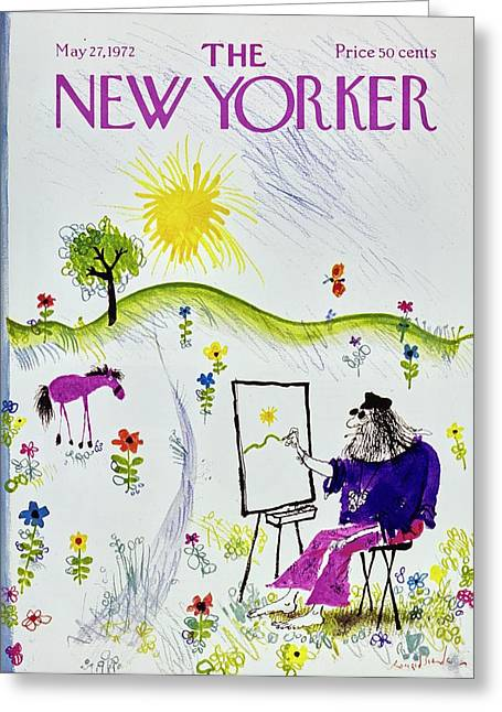 New Yorker May 27th 1972 Greeting Card