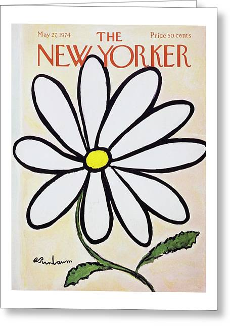 New Yorker May 27th 1974 Greeting Card