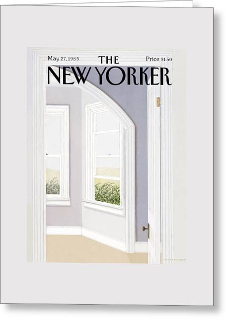New Yorker May 27th, 1985 Greeting Card by Gretchen Dow Simpson