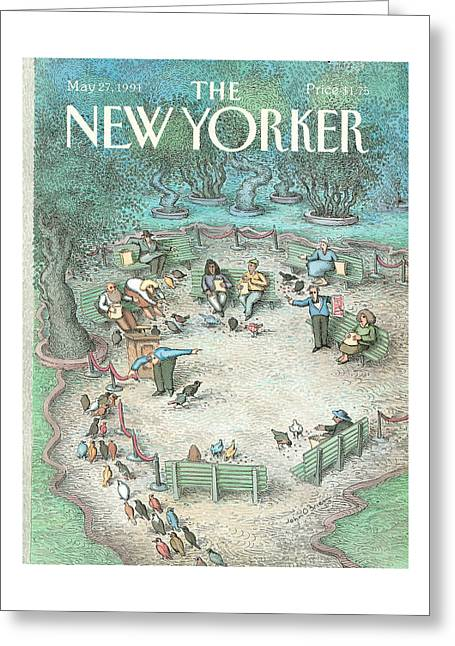 New Yorker May 27th, 1991 Greeting Card