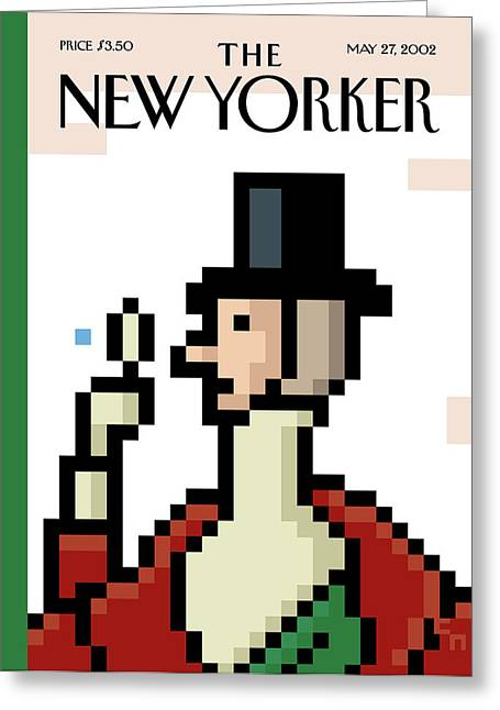 New Yorker May 27th, 2002 Greeting Card