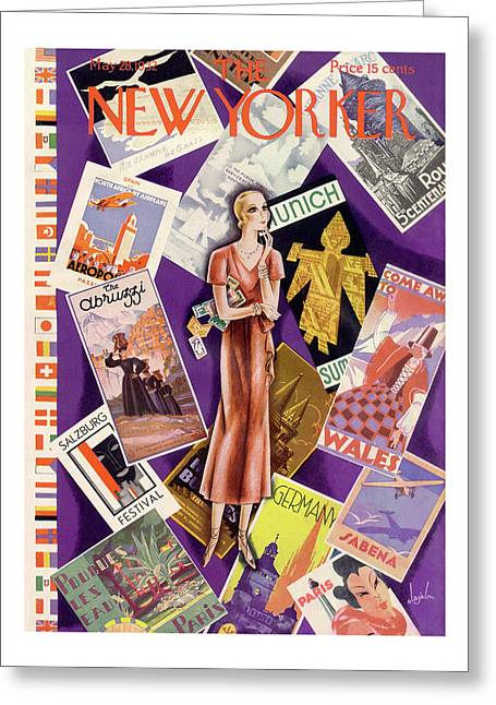 New Yorker May 28th, 1932 Greeting Card