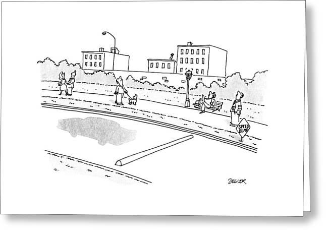 New Yorker May 28th, 1990 Greeting Card