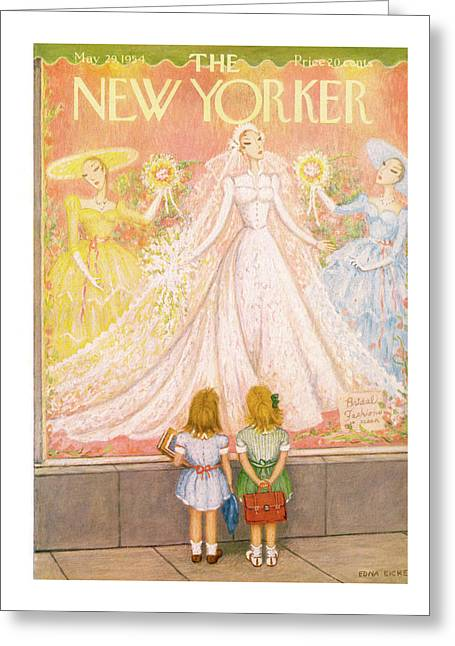 New Yorker May 29th, 1954 Greeting Card