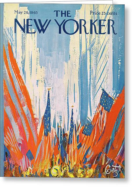 New Yorker May 29th, 1965 Greeting Card
