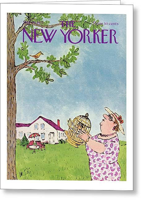 New Yorker May 29th, 1971 Greeting Card