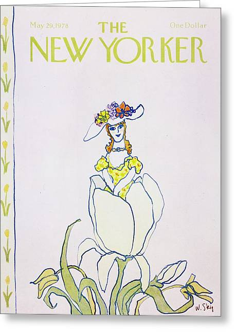 New Yorker May 29th 1978 Greeting Card