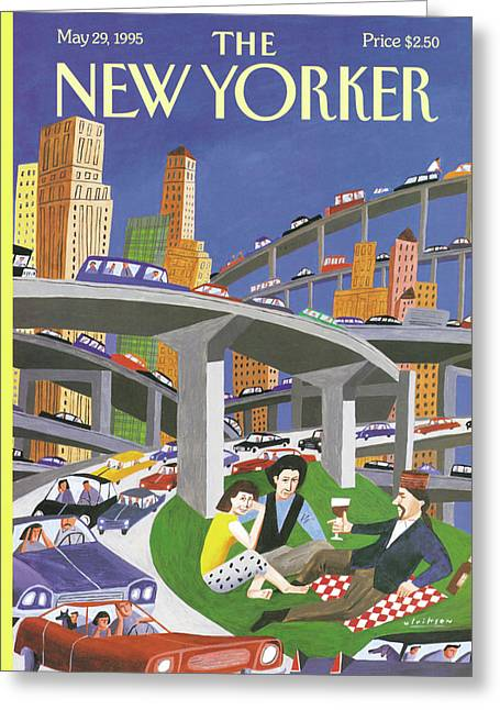 New Yorker May 29th, 1995 Greeting Card