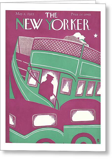 New Yorker May 2nd, 1925 Greeting Card
