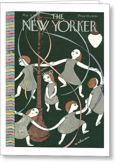 New Yorker May 2nd, 1942 Greeting Card