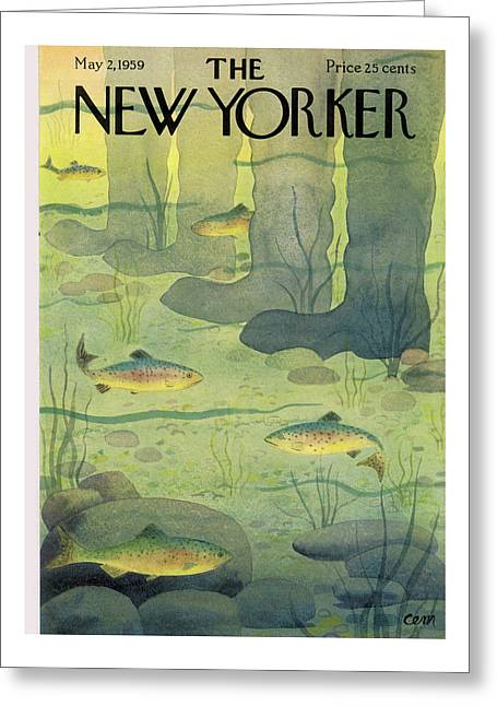 New Yorker May 2nd, 1959 Greeting Card