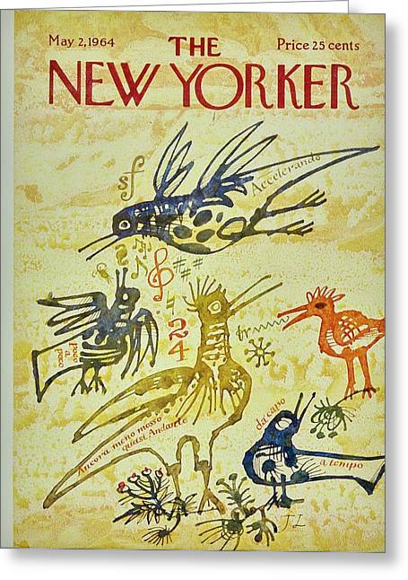 New Yorker May 2nd 1964 Greeting Card