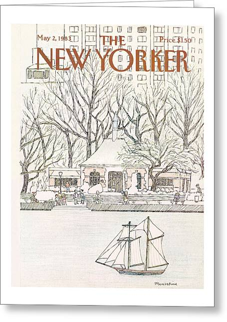 New Yorker May 2nd, 1983 Greeting Card