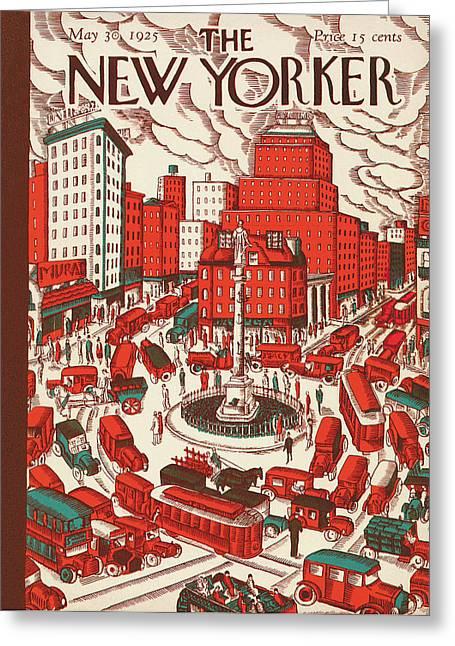 New Yorker May 30th, 1925 Greeting Card