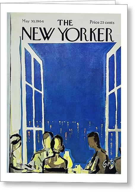 New Yorker May 30th 1964 Greeting Card