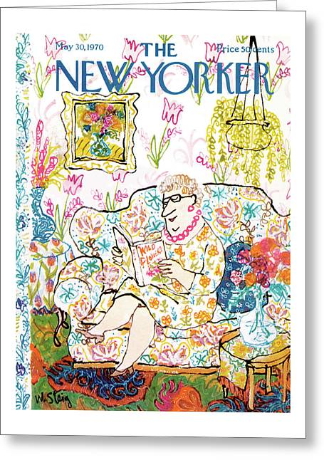 New Yorker May 30th, 1970 Greeting Card