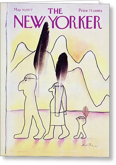 New Yorker May 30th 1977 Greeting Card by Andre Francois