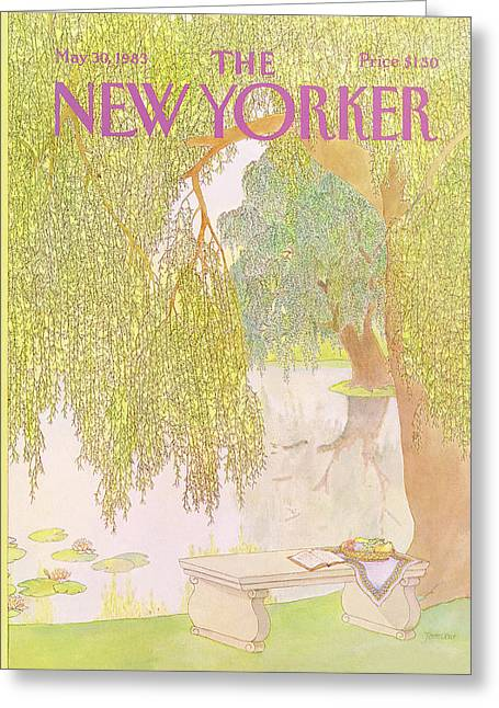 New Yorker May 30th, 1983 Greeting Card by Jenni Oliver