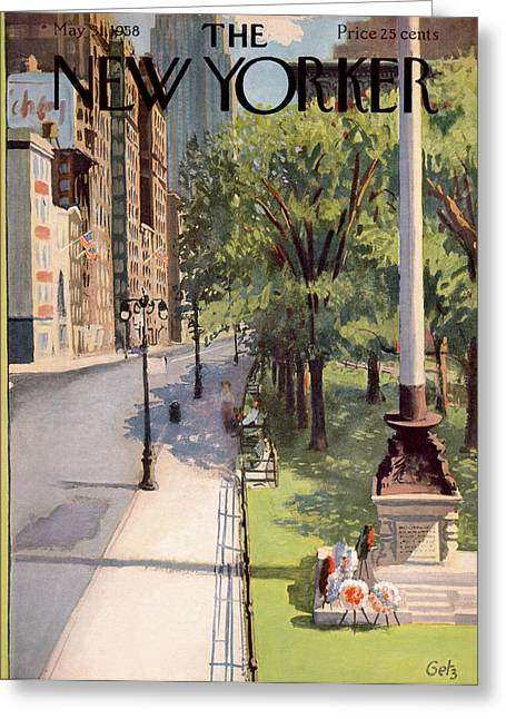 New Yorker May 31st, 1958 Greeting Card