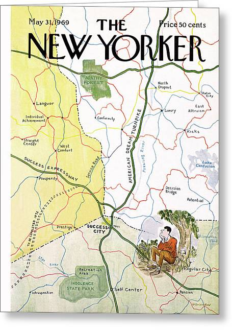 New Yorker May 31st, 1969 Greeting Card