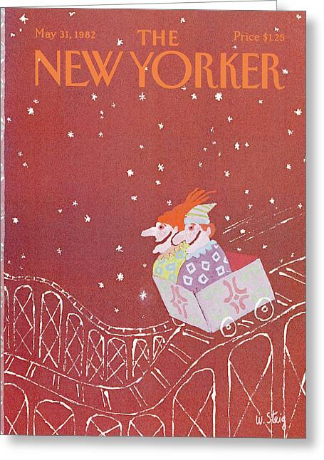 New Yorker May 31st, 1982 Greeting Card