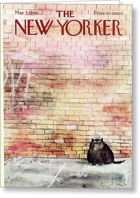 New Yorker May 3rd, 1969 Greeting Card