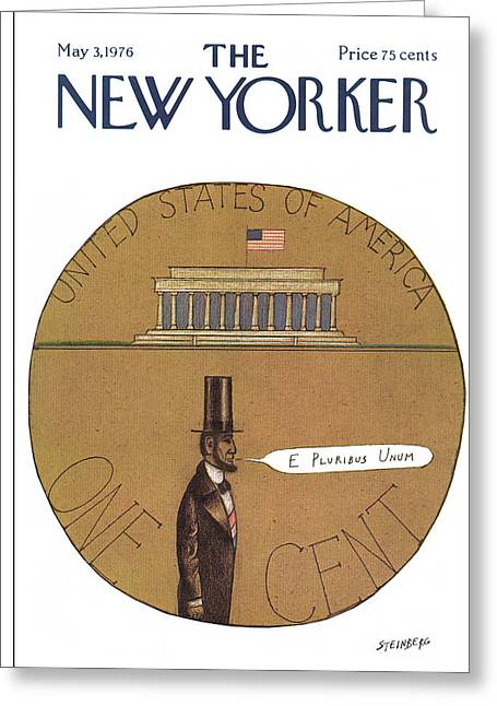 New Yorker May 3rd, 1976 Greeting Card