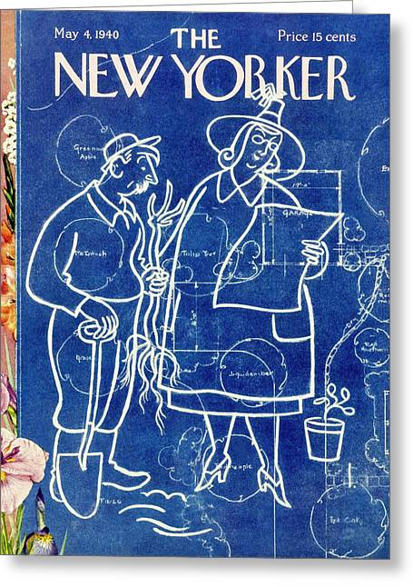 New Yorker May 4 1940 Greeting Card