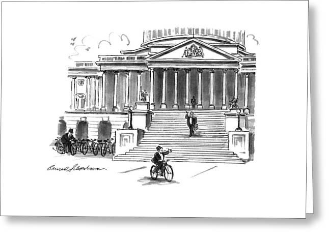 New Yorker May 4th, 1992 Greeting Card