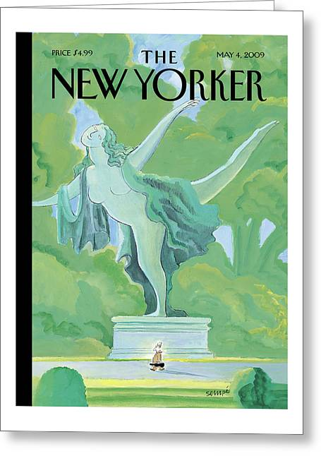 New Yorker May 4th, 2009 Greeting Card