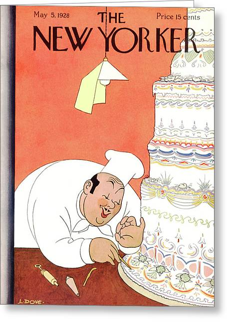 New Yorker May 5th, 1928 Greeting Card