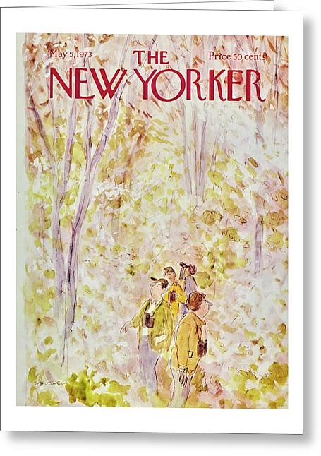 New Yorker May 5th 1973 Greeting Card
