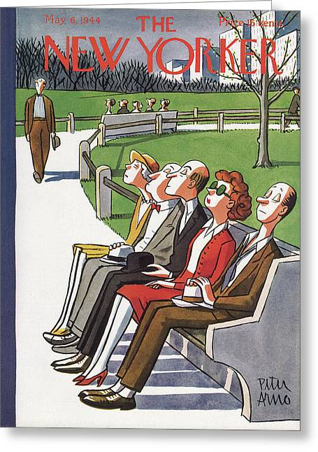 New Yorker May 6th, 1944 Greeting Card