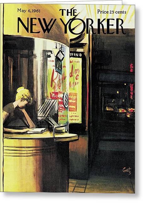 New Yorker May 6th, 1961 Greeting Card