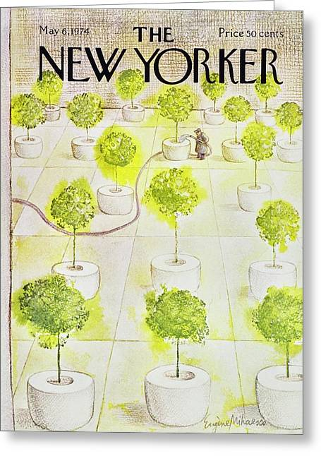 New Yorker May 6th 1974 Greeting Card