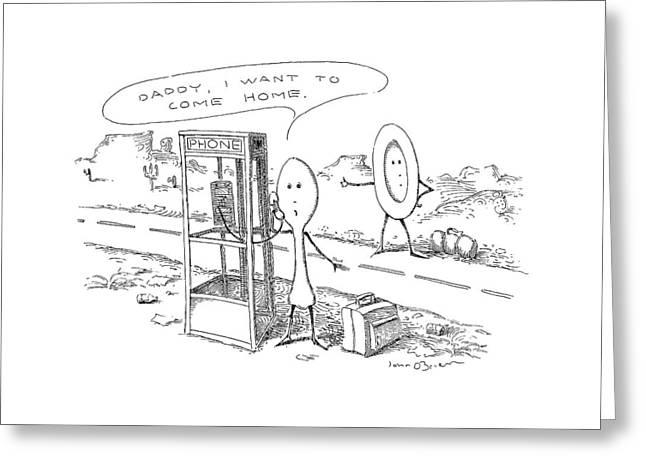 New Yorker May 6th, 1991 Greeting Card