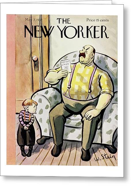 New Yorker May 7 1932 Greeting Card