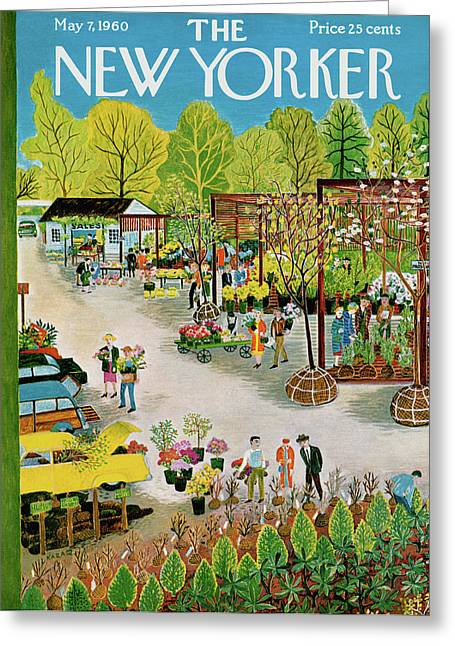 New Yorker May 7th, 1960 Greeting Card