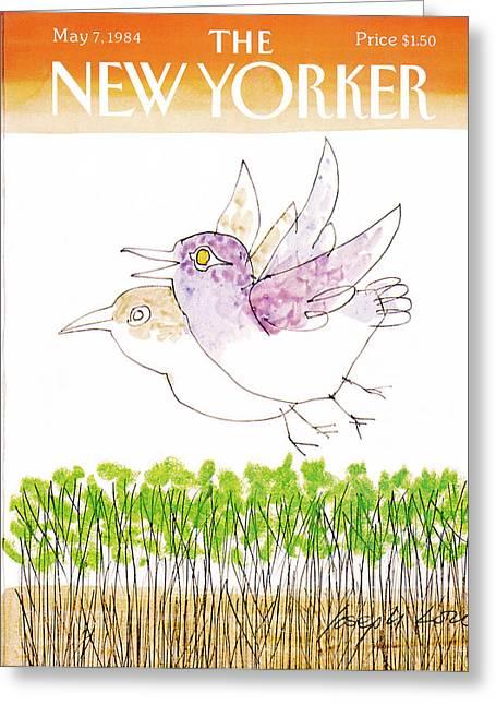 New Yorker May 7th, 1984 Greeting Card