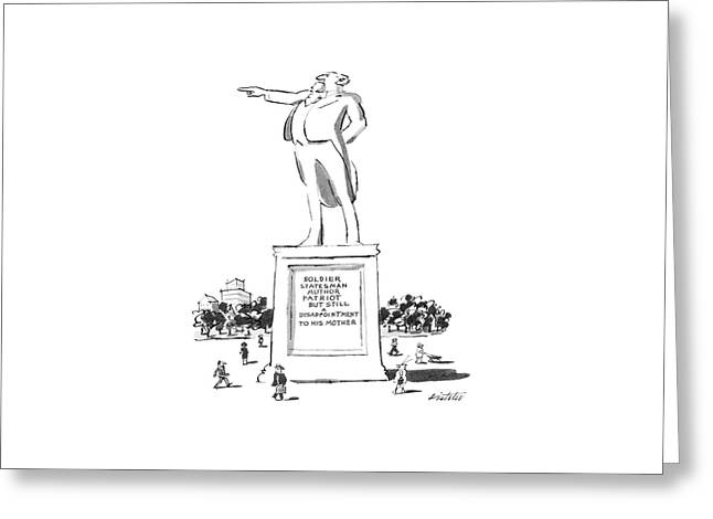 New Yorker May 7th, 1984 Greeting Card by Mischa Richter