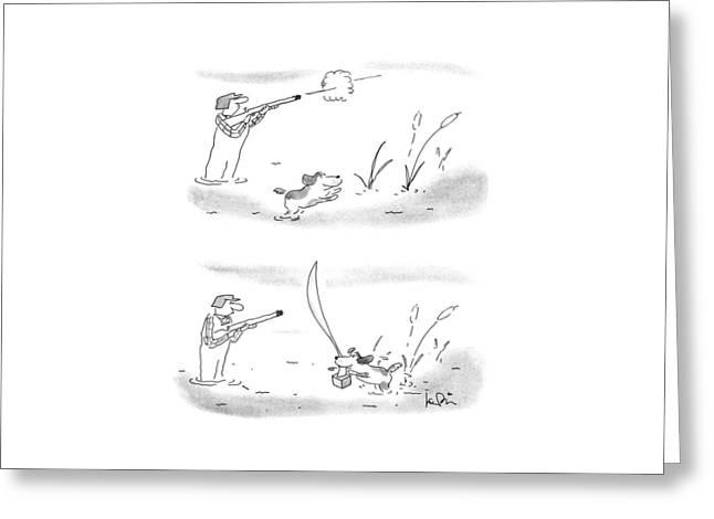 New Yorker May 7th, 1990 Greeting Card