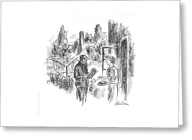 New Yorker May 8th, 1943 Greeting Card