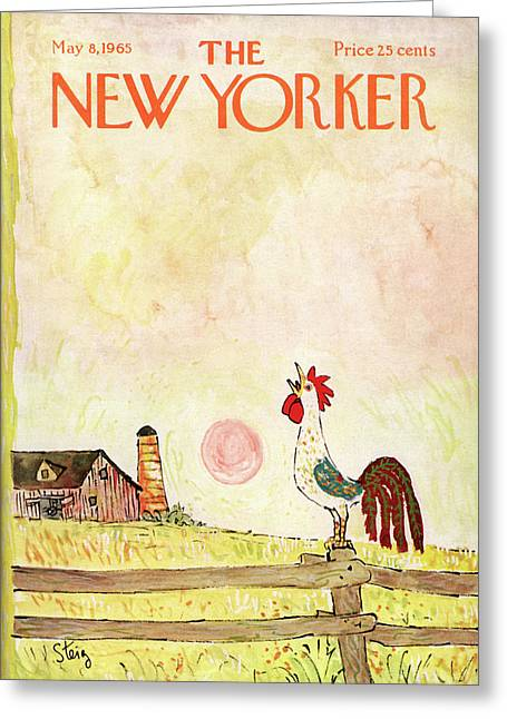 New Yorker May 8th, 1965 Greeting Card