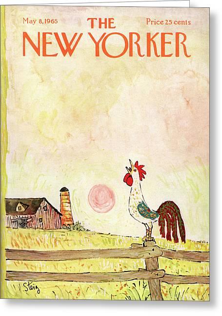 New Yorker May 8th, 1965 Greeting Card