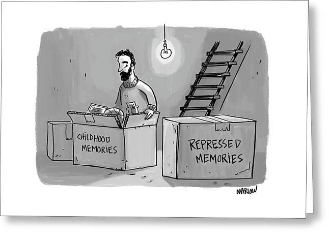 New Yorker May 8th, 2017 Greeting Card