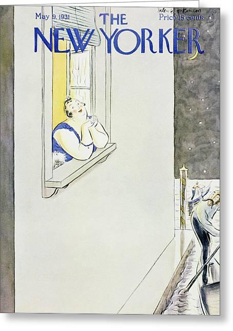 New Yorker May 9 1931 Greeting Card