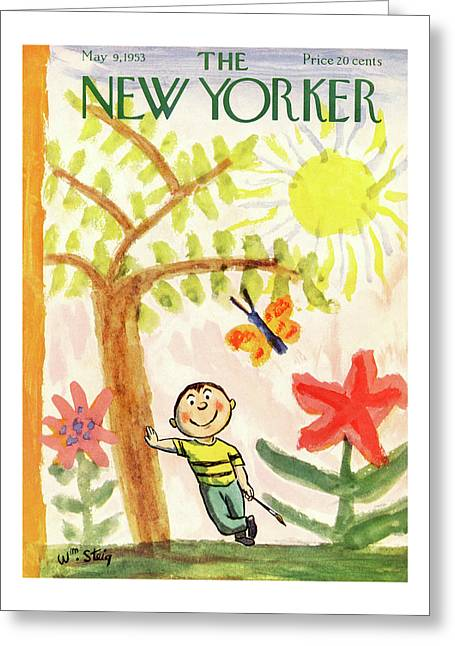 New Yorker May 9th, 1953 Greeting Card